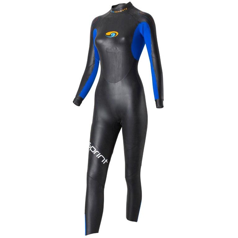 blueseventy Sprint Full Suit Women's Wetsuit - black/blue