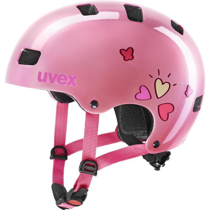 Uvex kid 3 Kinderhelm - pink heart