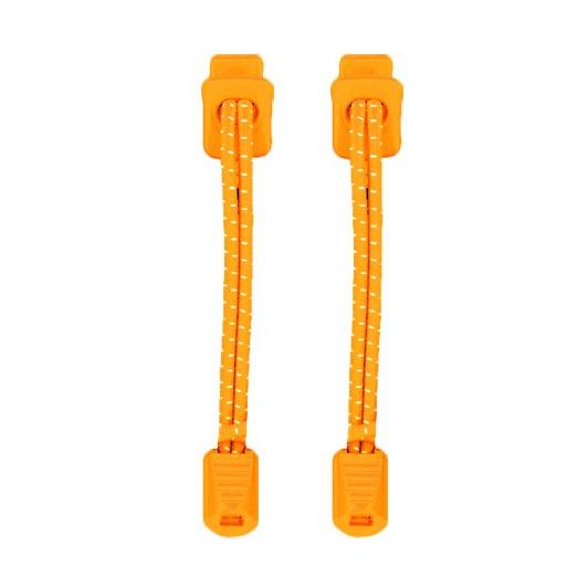 Produktbild von Nathan Sports Run Laces Schnürsenkel - neon orange