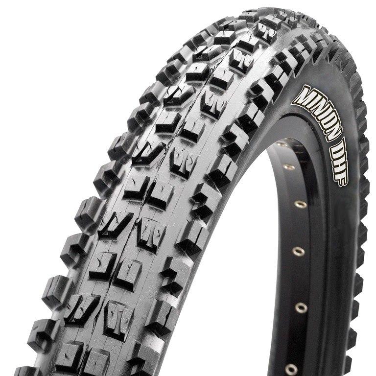 Picture of Maxxis Minion DHR II Rear DH MTB Folding Tire TR WT 3C MaxxGrip - 27.5x2.40 inches