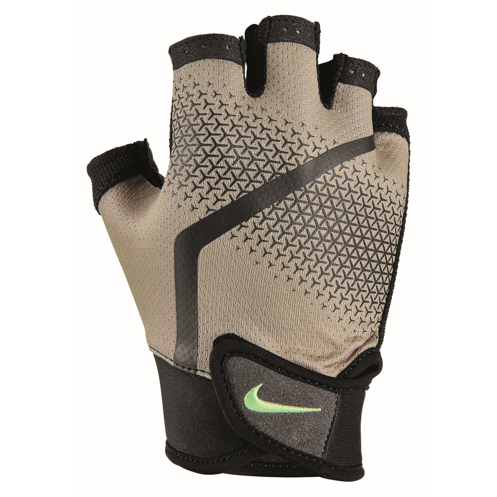 Foto de Nike Extreme Fitness Guantes para Hombre - khaki/black/lt lemon twist 263