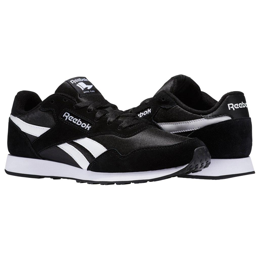 Reebok Men's Royal Ultra Sneaker - black/white BS7966