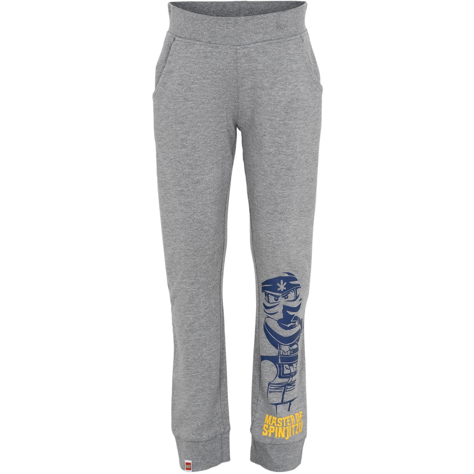 LEGO Wear M-22680 Boys Sweat Pants - Grey Melange