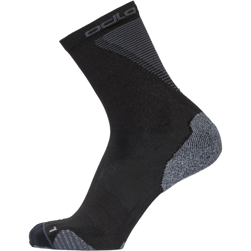 Image of Odlo Socks crew CERAMICOOL CREW Medium 763740 - 15000 black
