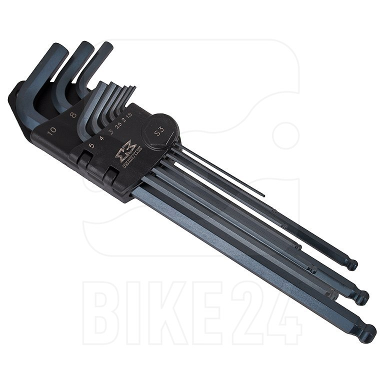 Bild von KCNC Standard Hex Key Set - Innensechskantschlüssel Set 9-teilig 1.5 - 10 mm