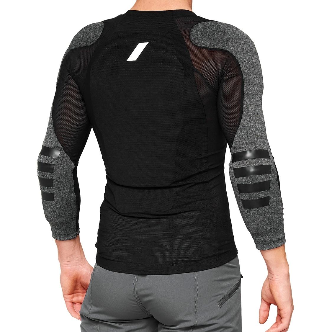 Imagen de 100% Tarka Long Sleeve Protection Chaleco - negro