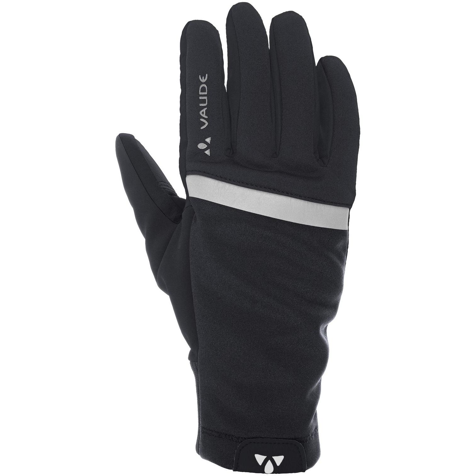 Image of Vaude Hanko Gloves II - black uni