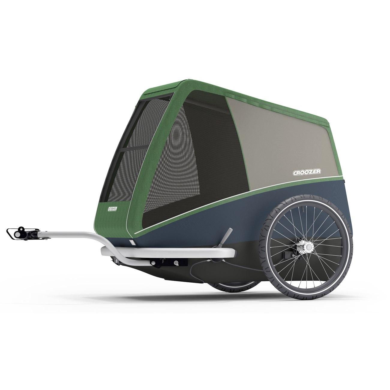 Foto de Croozer Dog Bruuno - Remolque de bicicletas para perros - pine green