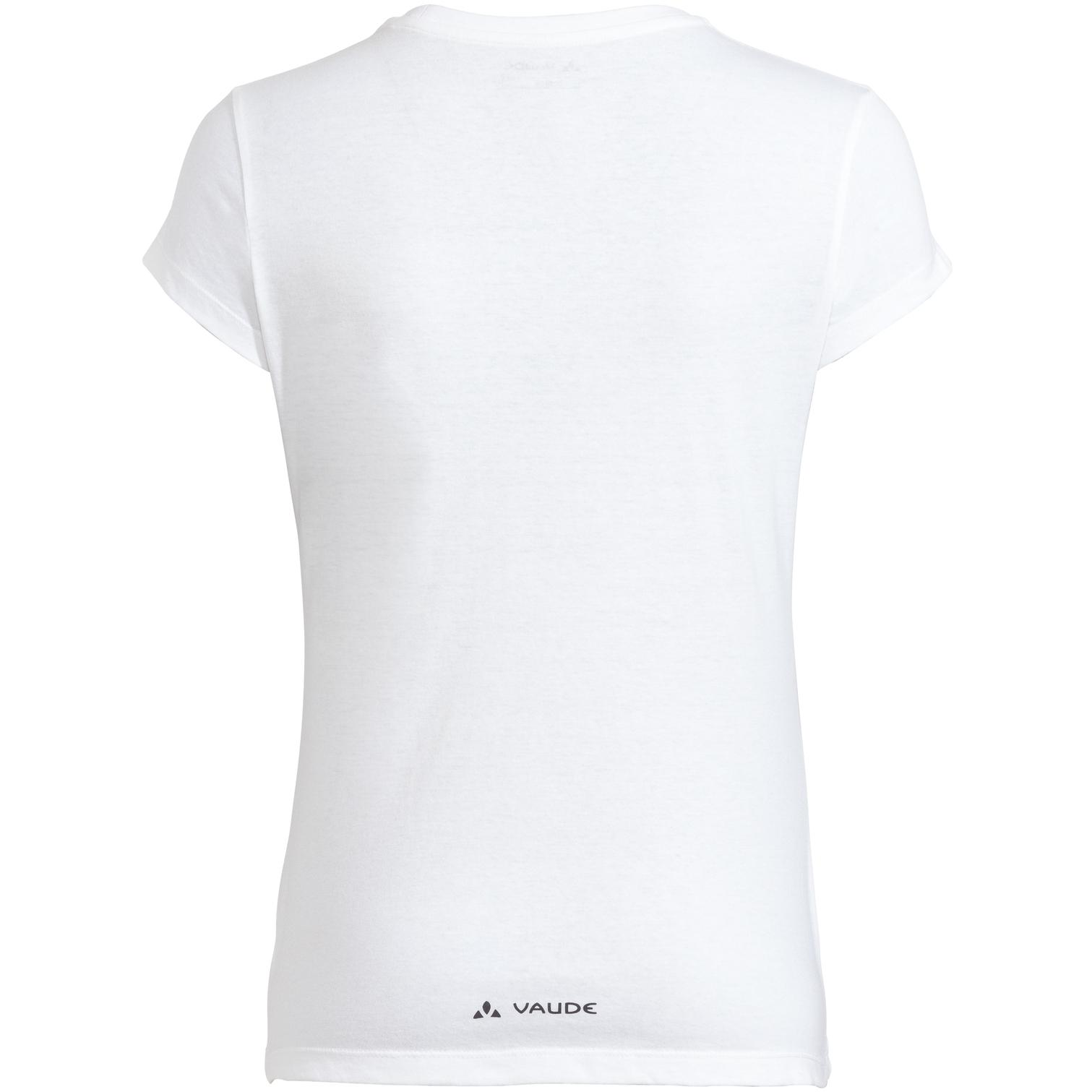 Bild von Vaude Cyclist Damen T-Shirt V - white