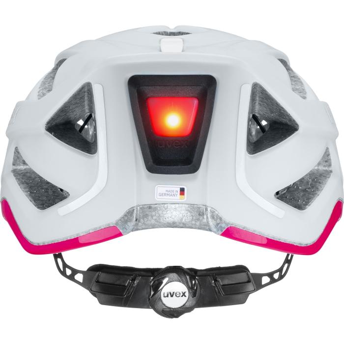 Image of Uvex city active Helmet - papyrus - neon pink mat