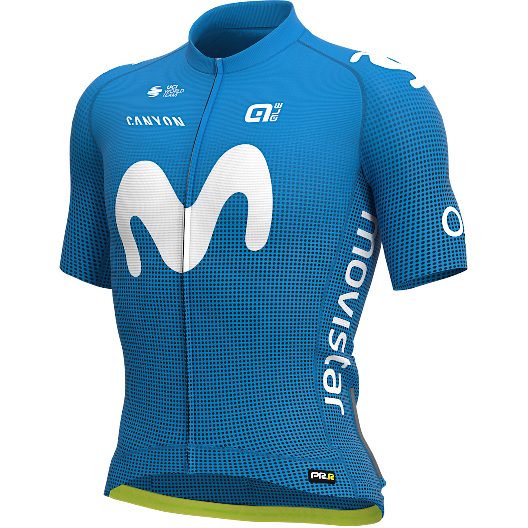 Alé PRR Jersey - Movistar Teamwear 2021 - blue