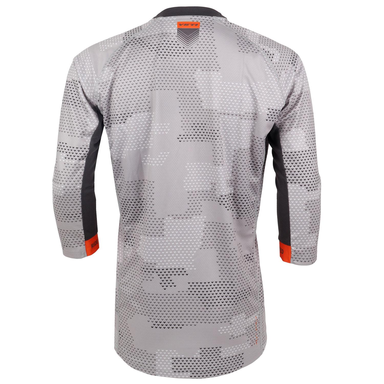 Image of Yeti Cycles Enduro 3/4-Sleeve Jersey - Light Grey Camo