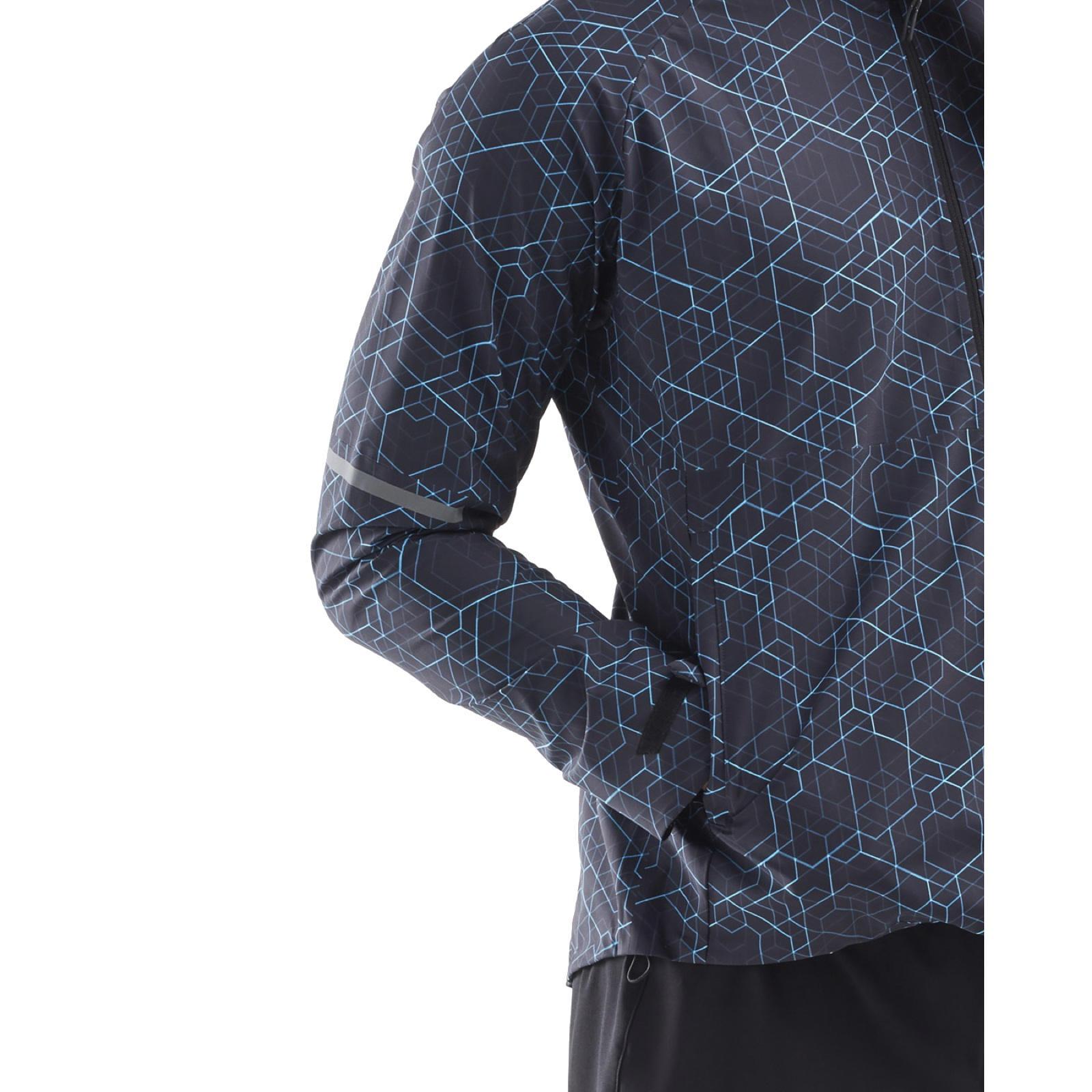 Image of 2XU GHST Waterproof Running Jacket - matrix black/silver reflective