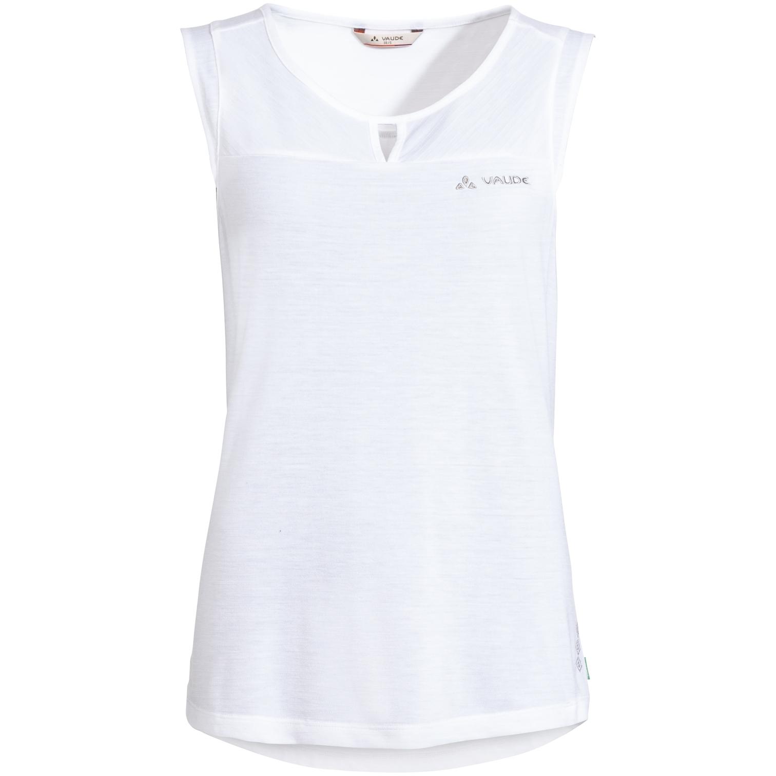 Vaude Skomer Damen Wander-Top - white