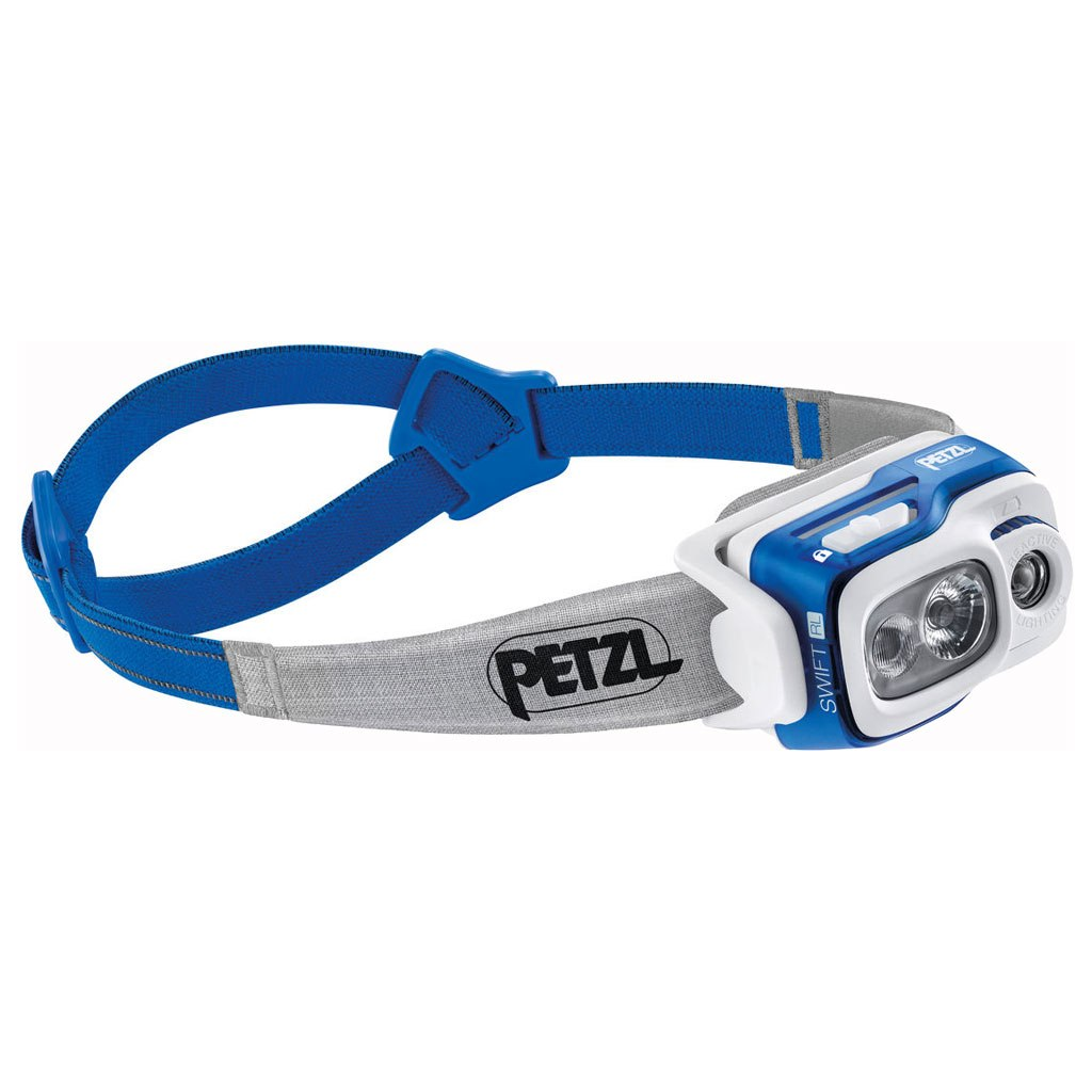 Petzl Swift RL Headlamp - blue