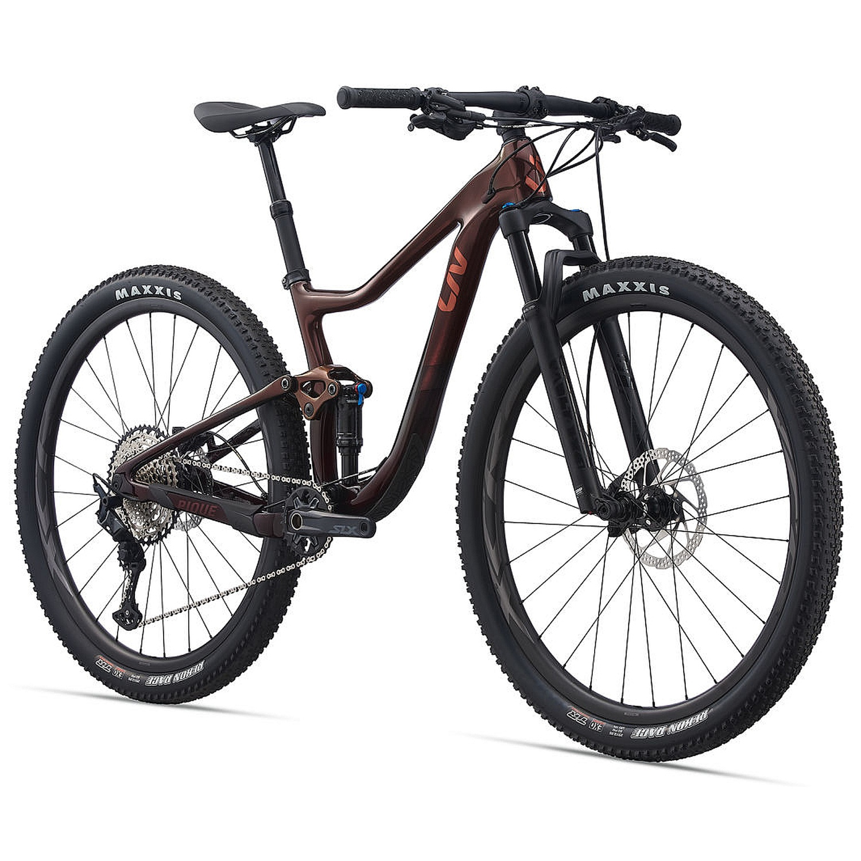 "Image of Liv PIQUE ADVANCED PRO 2 - 29"" Women Mountainbike - 2021 - chameleon mars/black"