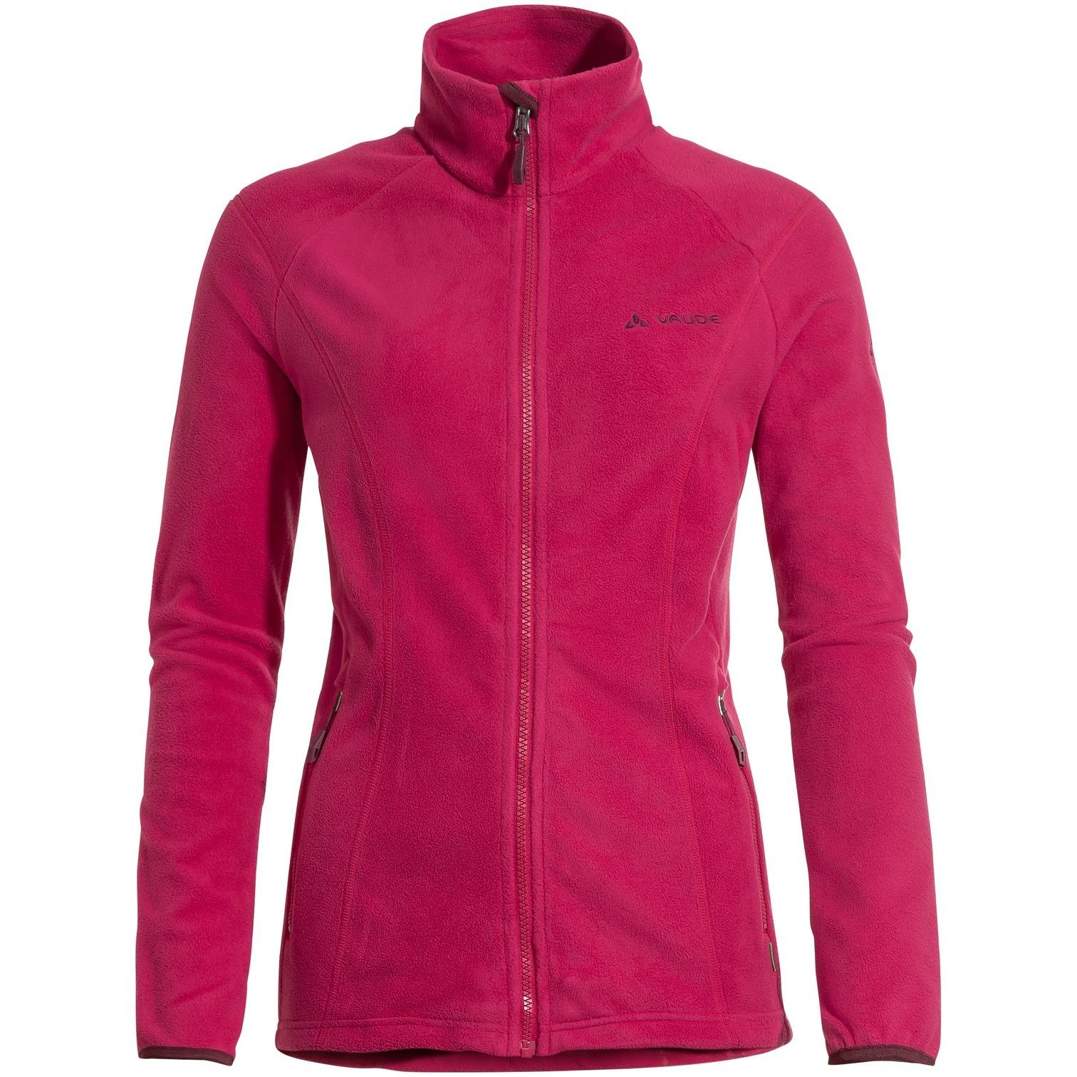 Image of Vaude Women's Rosemoor Fleece Jacket - crimson red