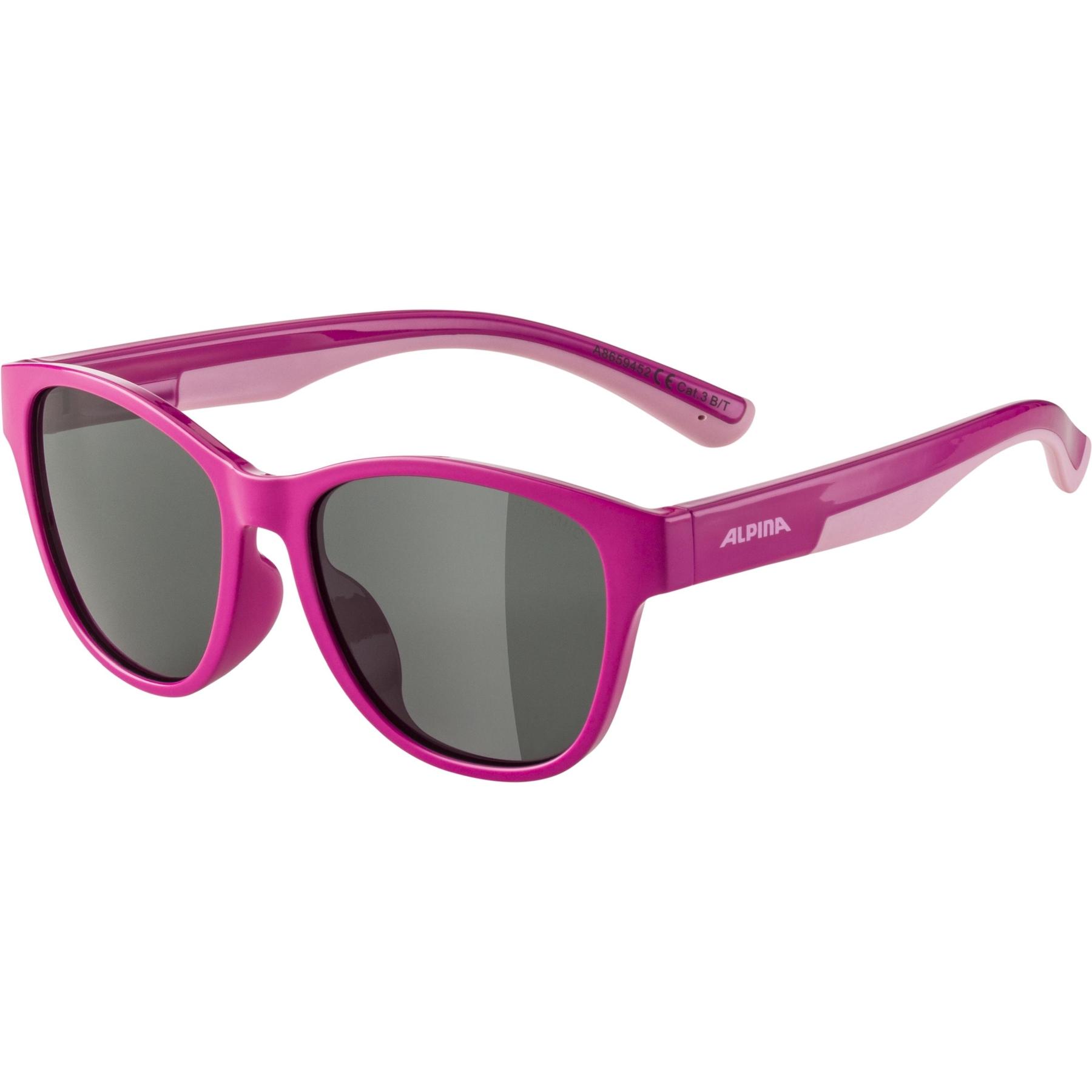 Alpina Flexxy Cool Kids II Glasses - pink-rose / black