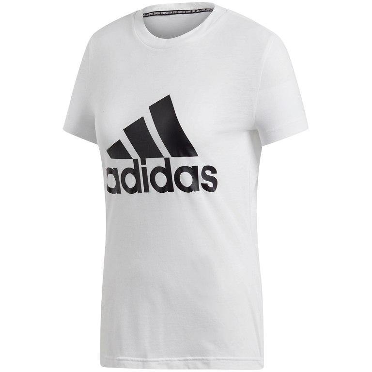 adidas Women's Must Haves Badge of Sport Tee - white DZ0013