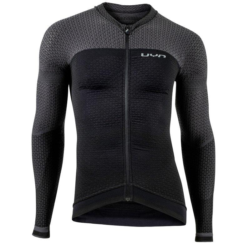 UYN Alpha Man Biking Long Sleeve Shirt - blackboard/charcol