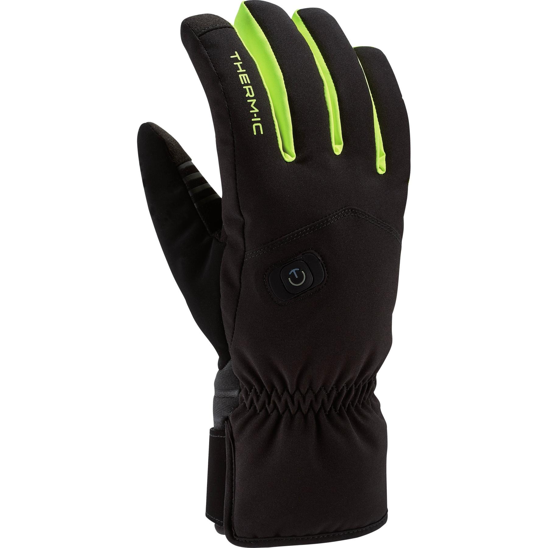 therm-ic Power Gloves Light+ Beheizbare Handschuhe - Schwarz