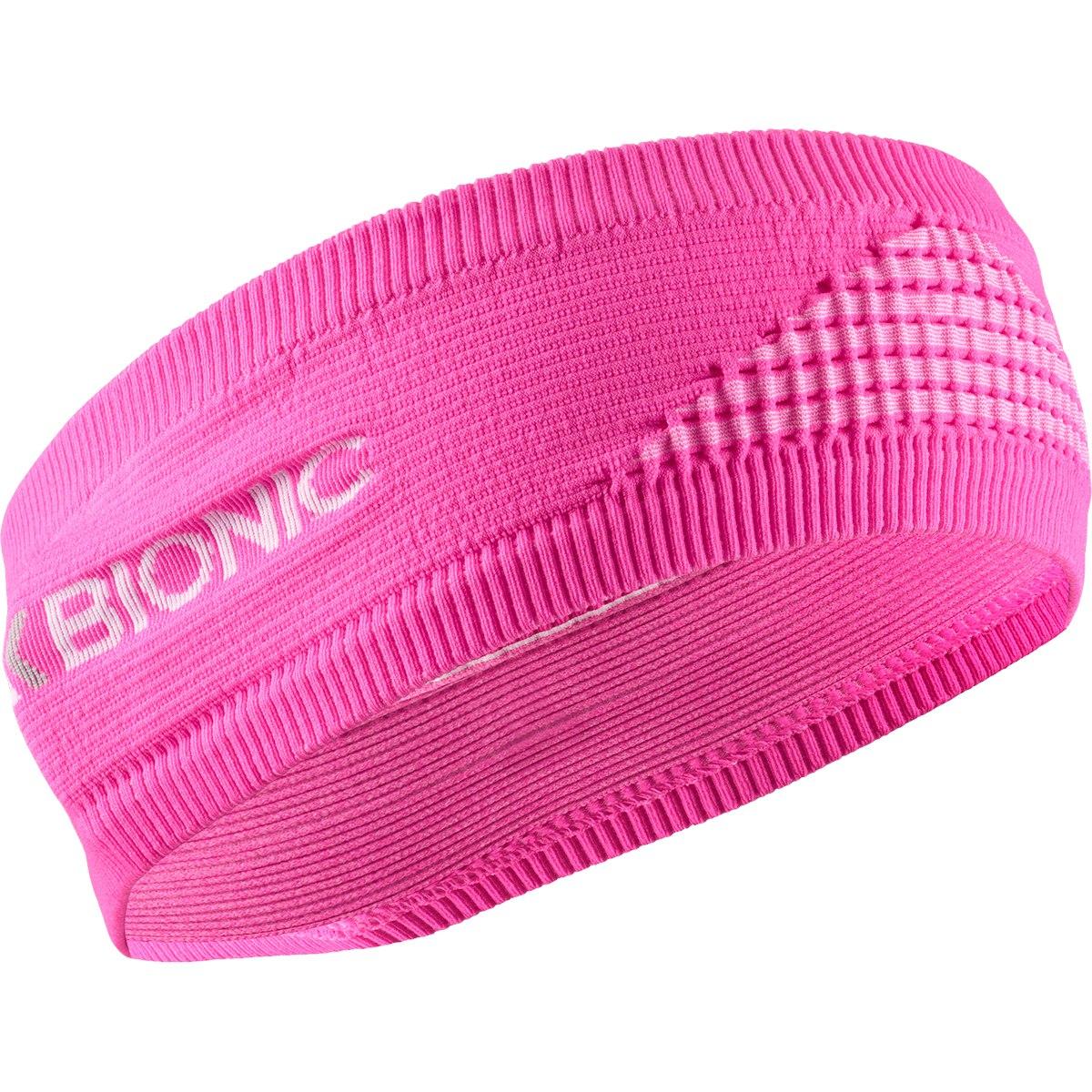 X-Bionic Headband 4.0 - flamingo fire/arctic white