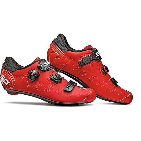 Sidi Ergo 5 Carbon Road Shoe - matt red
