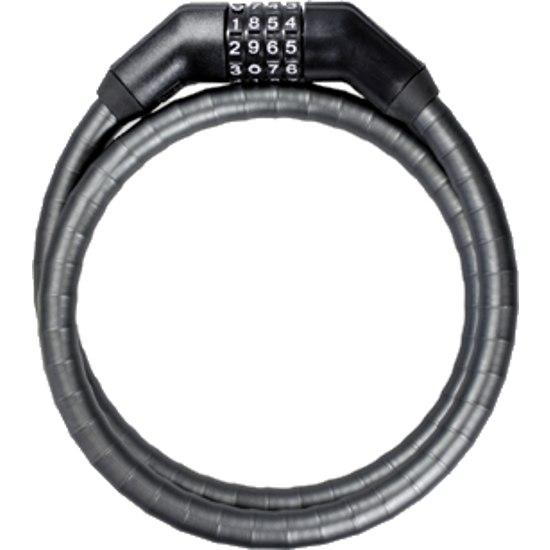 Trelock PK 260 CODE Armoured Cable Lock - black