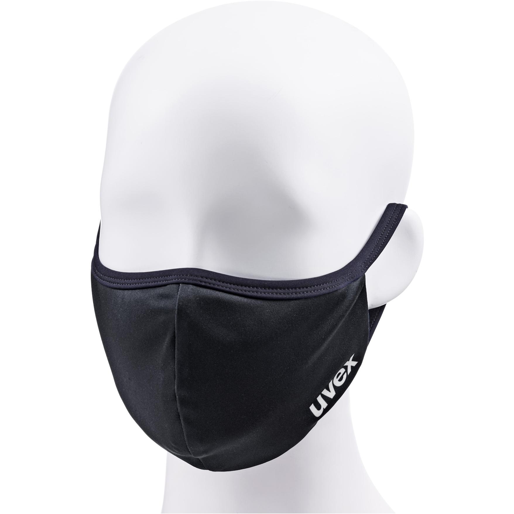 Uvex Face Mask - black