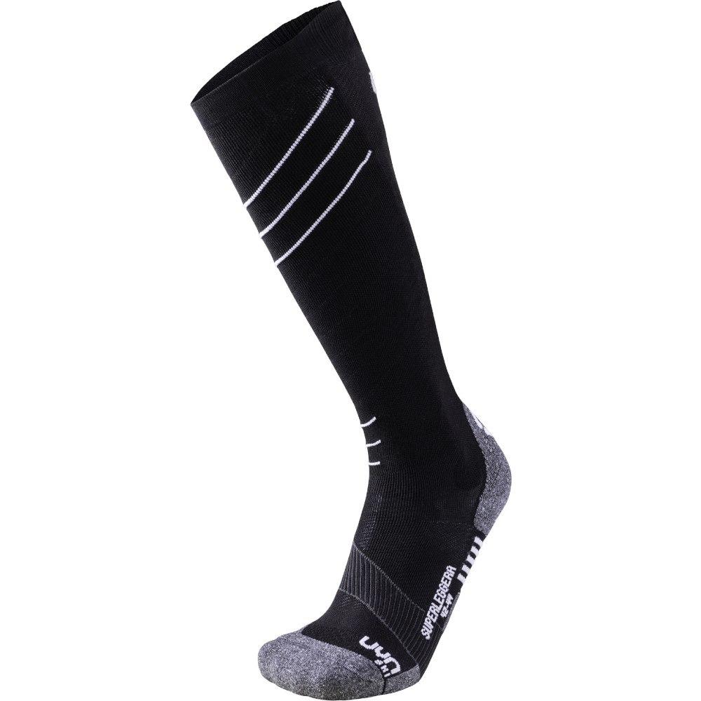 UYN Man Ski Superleggera Socks - Black/White