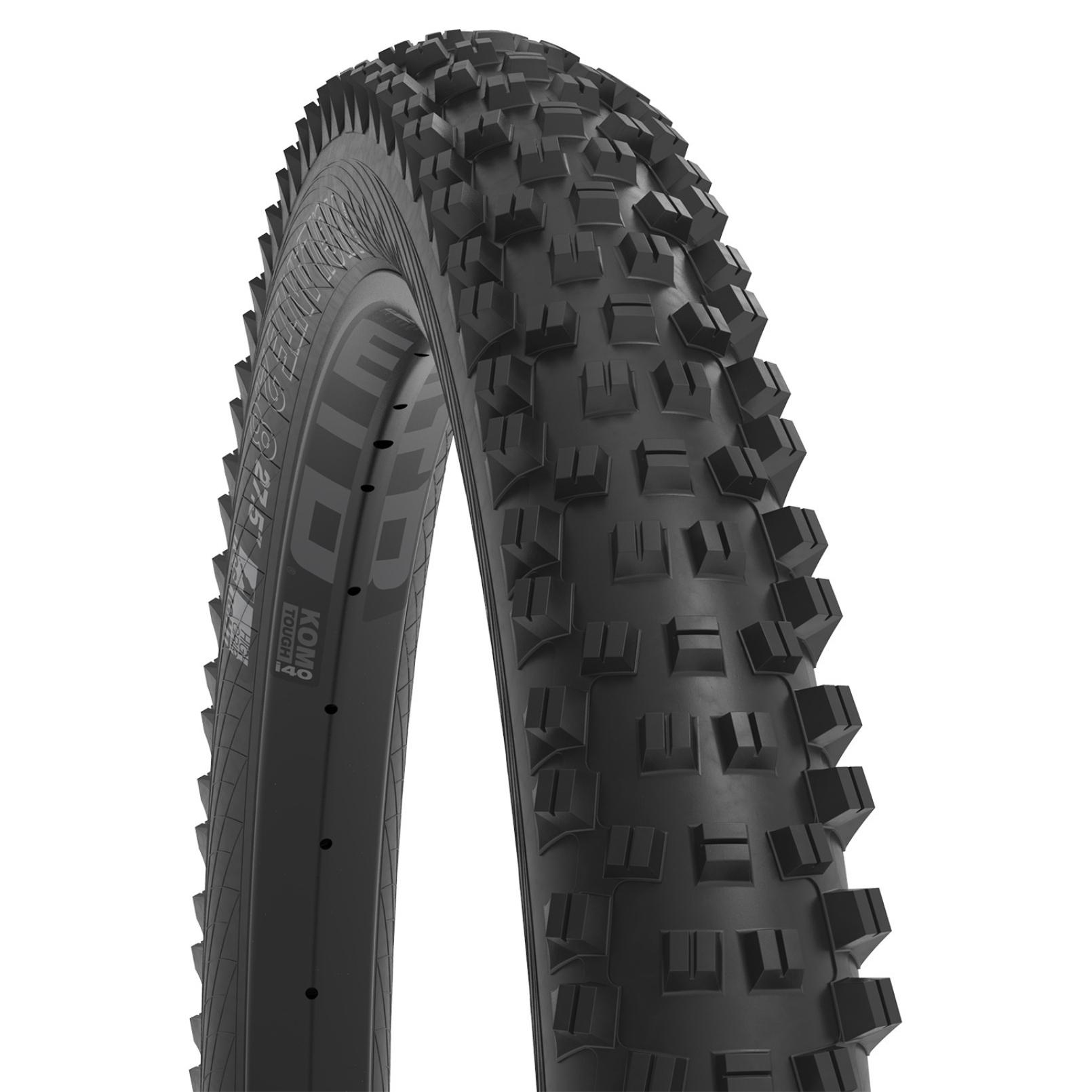 WTB Vigilante 2.8 TCS Tough/Fast Rolling MTB Folding Tire - 29x2.8 Inches - black
