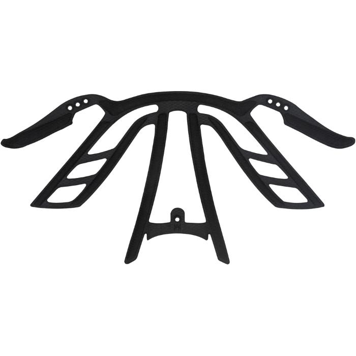 ABUS AirBreaker Almohadillas para el casco - negro