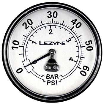 """Bild von Lezyne 2.5"""" Ersatzmanometer für Standpumpen 60psi"""