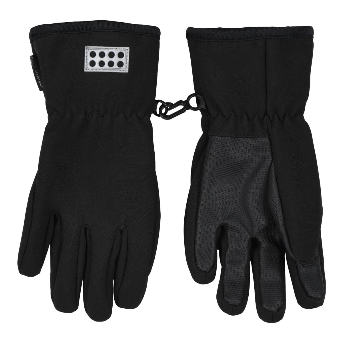LEGO Wear LWAtlin 705 Kids Softshell Gloves - Black
