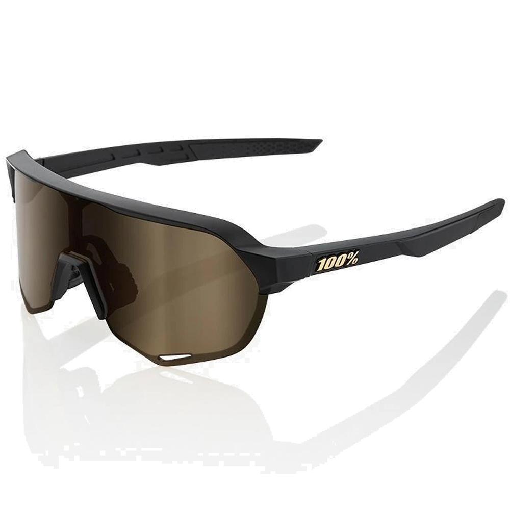 Foto de 100% S2 Mirror Gafas - Matte Black/Soft Gold + Clear