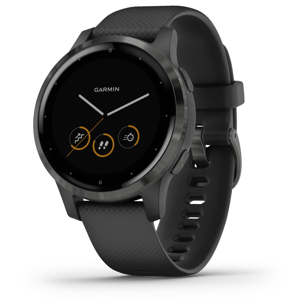Garmin vivoactive 4s GPS Smartwatch - schwarz
