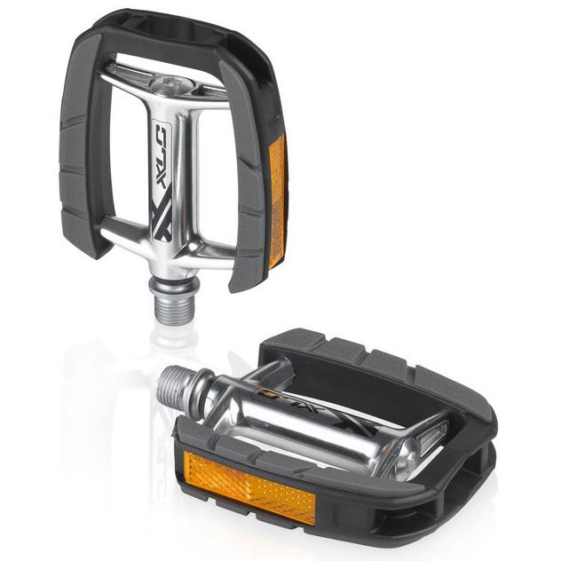 XLC PD-C08 Comfort Pedal - silber/schwarz