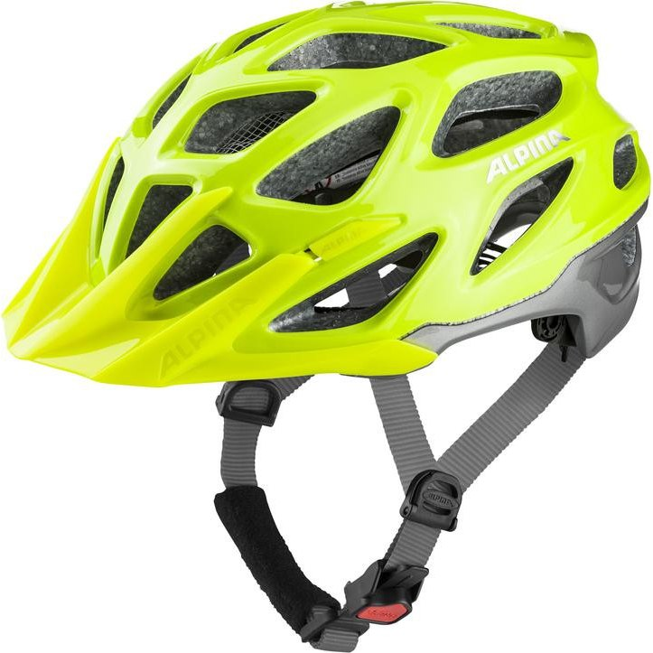 Alpina Mythos 3.0 Helmet - be visible-silver