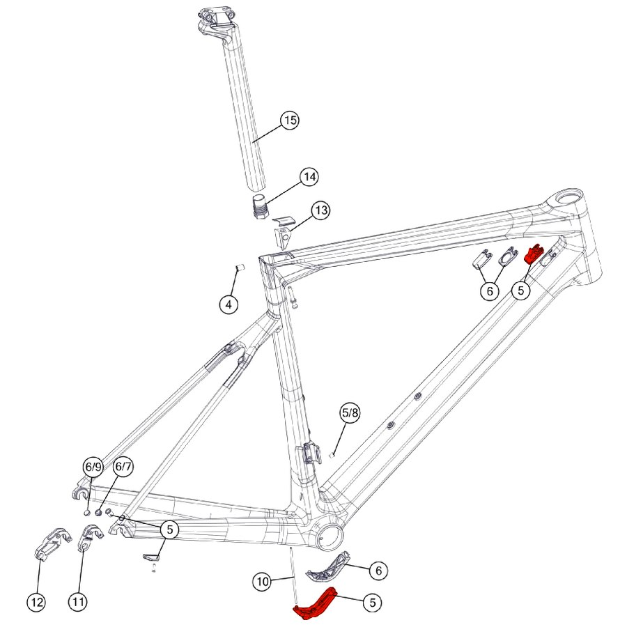 BMC Mechanical Kit #7 - DTi Cover Set - 301100