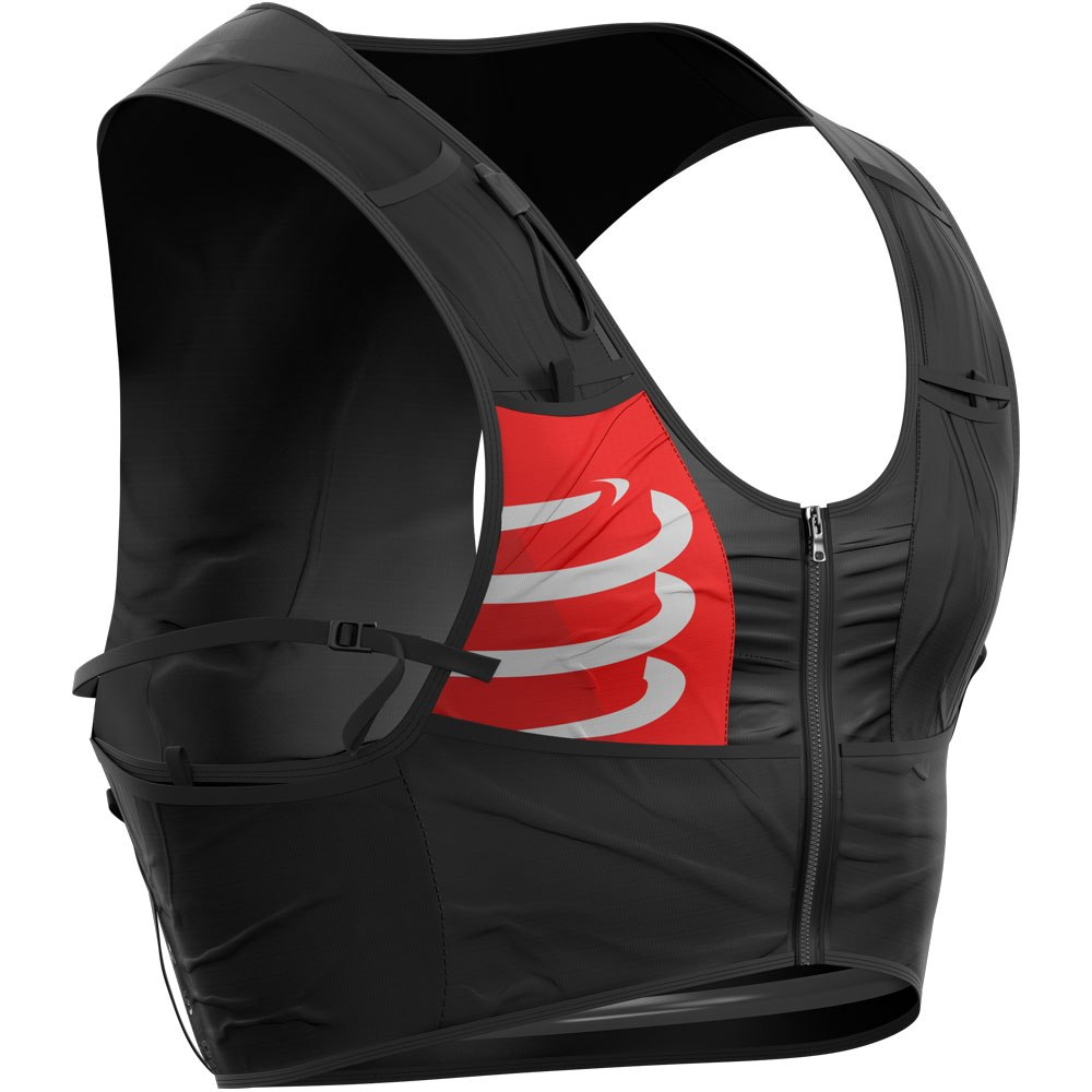 Picture of Compressport Ultrun S Hydration Pack - black-red-white
