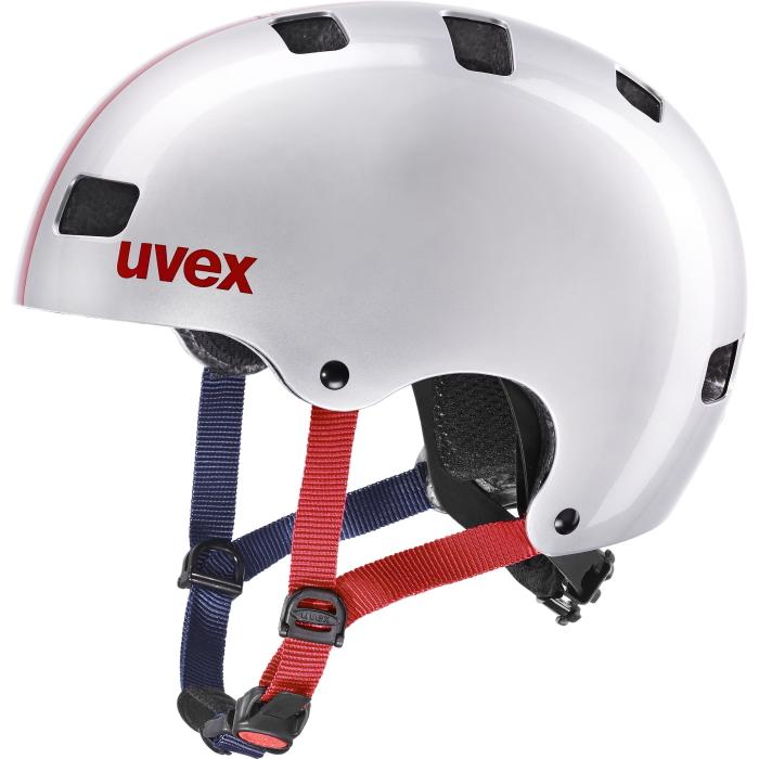 Uvex kid 3 Kids Helmet - race silver