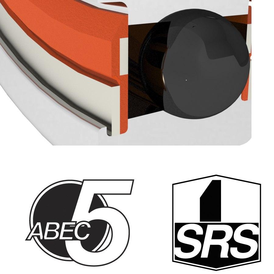 Image of Enduro Bearings 61802 SRS - ABEC 5 - Ball Bearing - 15x24x5mm