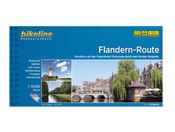 Image of Bikeline Bike Tour Books - Flandern-Route - Rundtour durch den Norden Belgiens