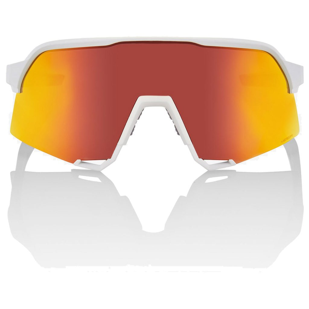 Imagen de 100% S3 HiPER Multilayer Mirror Lens Glasses - Soft Tact White