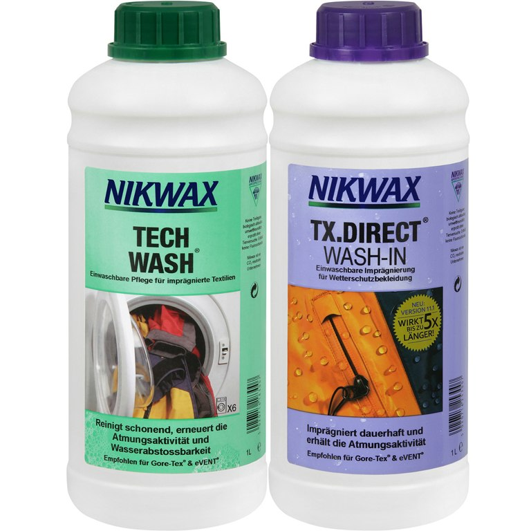 Foto de Nikwax Tech Wash + TX Direct Set 2 x 1L