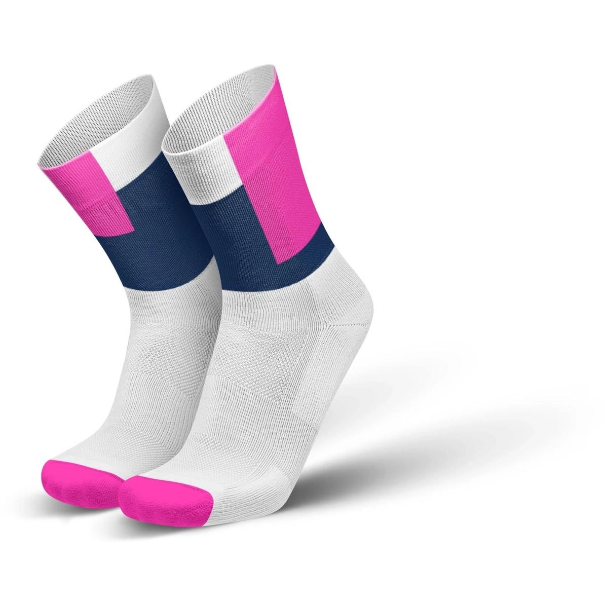 Produktbild von INCYLENCE Running Squares Socken - Pink