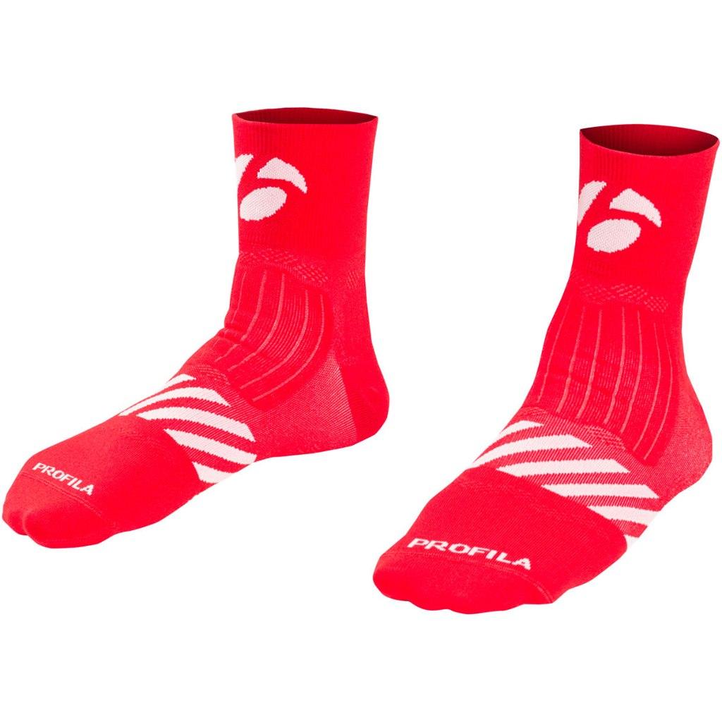 """Bontrager Velocis 2.5"""" Socks - Red"""