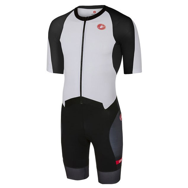 Castelli All Out W Speed Suit Women's 18115 - white/black 101