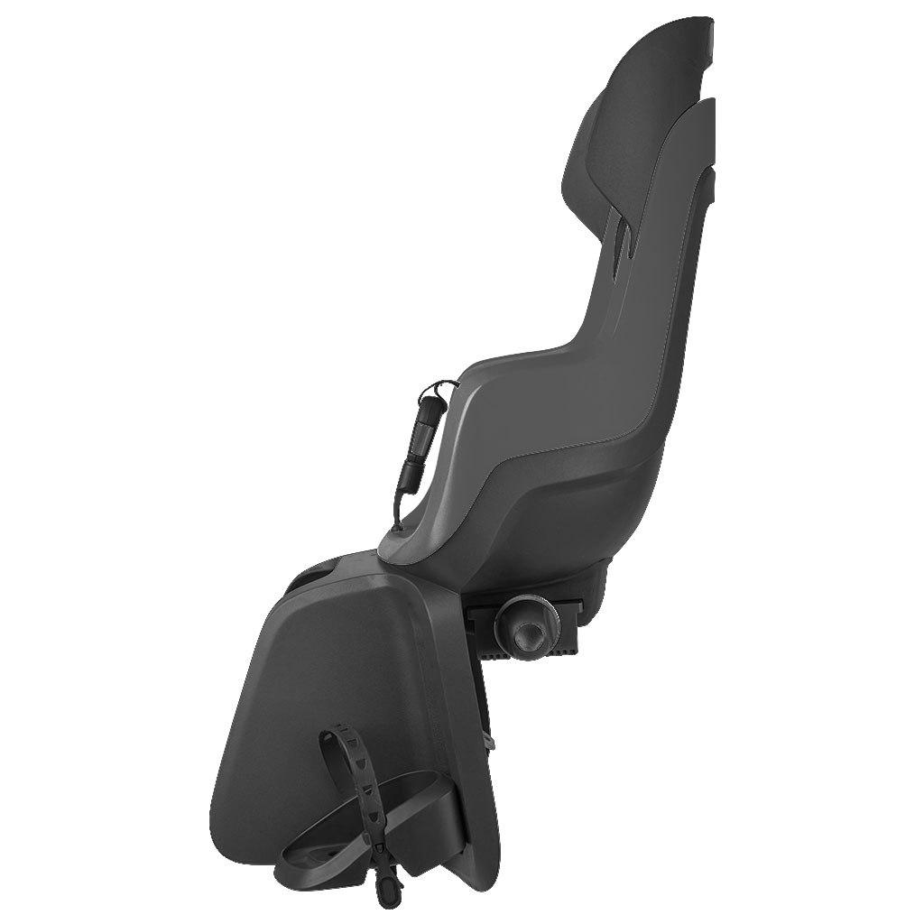 Image of Bobike GO Child Bike Seat - Frame Mount - Macaron Grey