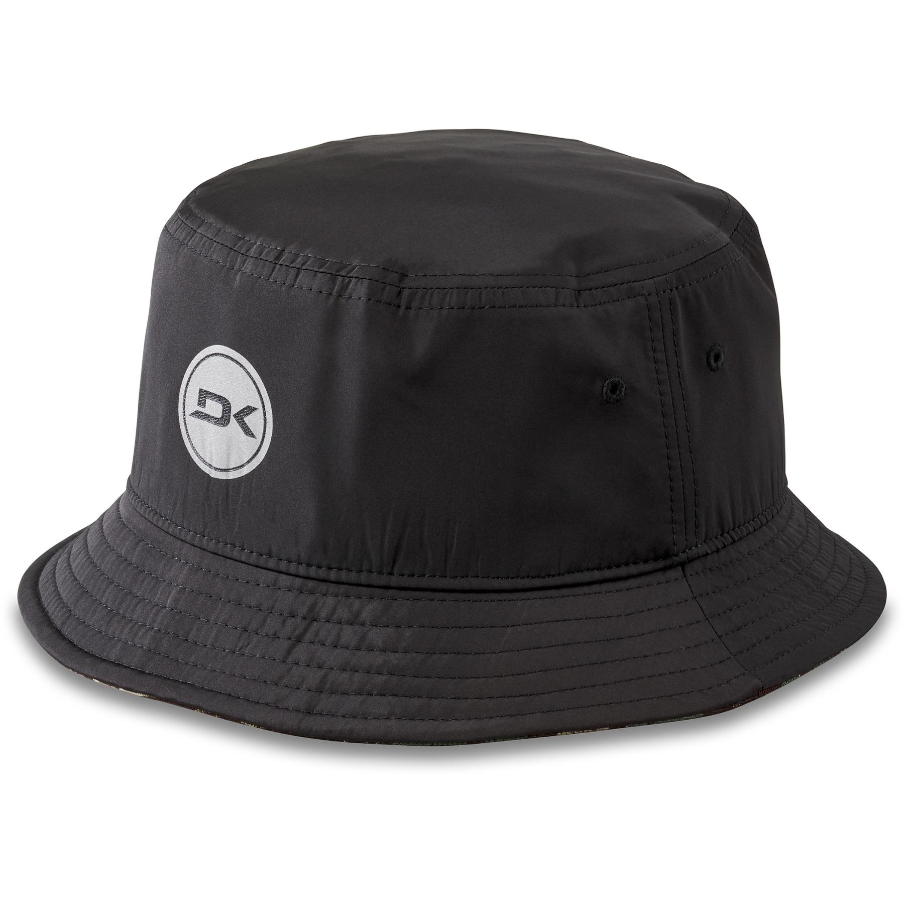 Dakine Option Reversible Bucket Hat - black aloha camo